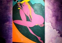"Chris Ofili ""Night and Day"" at the New Museum, New York"