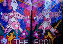 """""""The Fool"""" by Raul de Nieves and Colin Self at Issue Project..."""