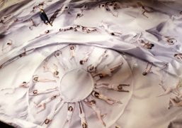 JR Installation for the New York City Ballet at the David H....
