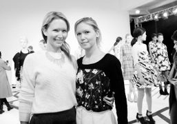 Dawn and Samantha Goldworm at the Calla New York Fashion Week F/W 2014 presentation, New York. Photo…