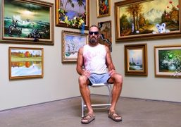 """Kenny Scharf """"Born Again"""" exhibition at Honor Fraser, Los Angeles"""