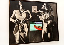 New Paintings by David Salle at the Mary Boone Gallery, New York