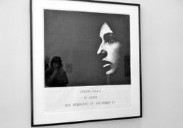 JOAN BAEZ IS ALIVE BY MARC HUNDLEY AT TEAM GALLERY