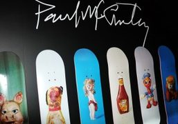Paul McCarthy's Propo Collection for The Skateroom at MoMA, New York