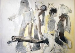 """Richard Prince """"The Figures"""" at Luxembourg & Dayan, New York"""