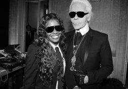 KARL LAGERFELD'S DINNER TO CELEBRATE THE LAUNCH OF HIS NEW LINES, Paris