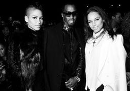 BEFORE THE GIVENCHY F/W 2012 SHOW, Paris