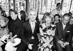 Front Row of Proenza Schouler S/S 2014 Show, New York