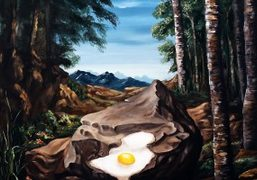 """Djordje Ozbolt """"More Paintings About Poets and Food"""" at Hauser & Wirth,..."""