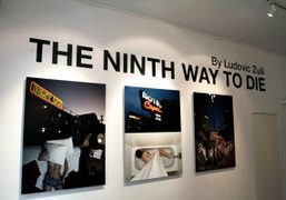 Ludovic Zuili's new The ninth way to die exhibition opens September 6th…