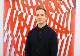 Eddie Peake exhibition opening at Lorcan O'Neill, Rome