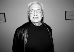 """Frank Gehry's opening of """"Fish Lamps"""" at Gagosian Gallery, Beverly Hills"""
