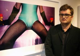 GUY BOURDIN OPENING AT MICHAEL HOPPEN GALLERY, LONDON