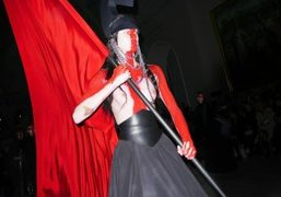 Gareth Pugh F/W 2015 show at the V&A Museum, London
