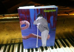 The New issue of Gagosian magazine with acollage cover byFranz West, New…