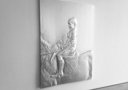 """Girl on a Pony from Charles Ray's """"Sculpture, 1997–2014"""" exhibition at the..."""