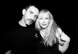 Givenchy Men's S/S 2016 After-Party with performance by Courtney Love at Mona...