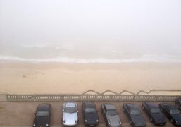 The view from a room at le Grand Hotel where Marcel Proust…