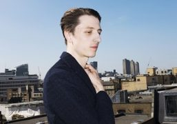Musician Gwilym Gold on the roof of the Ace Hotel Shoreditch, London. Watch…