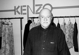 Hans Feurer at his book signing at the Kenzo store, London. Photo Flo Kohl