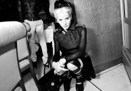 Daphne Guinness at the Hogan Dinner hosted by Karl Lagerfeld and Diego…
