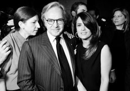 Diego Della Valle and Salma Hayekat the Hogan Dinner hosted by Karl…