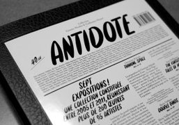 ANTIDOTE CATALOG by Les Galeries Lafayette is out, Paris
