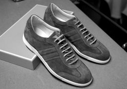 A gift fromSantoni(the most luxurious sneakers you can find) for spring,Paris. Photo…
