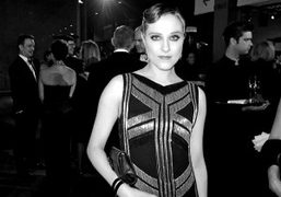 Evan Rachel Wood at the L.A.C.M.A inaugural Art + Film Gala in honor of Clint…