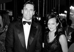 Jon Hamm & Elisabeth Moss at the L.A.C.M.A inaugural Art + Film Gala…