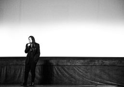 Marina Abramovicduring a Q&A for The Artist Is Presentat theBerkshire International Film…