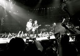 The Rolling Stones' 50th anniversary concert at Madison Square Gardens, New York