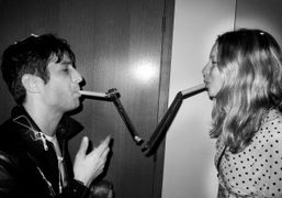 André Saraiva and Annabelle Dexter-Jones at Marion Cotillard's New Year's Eve party,…