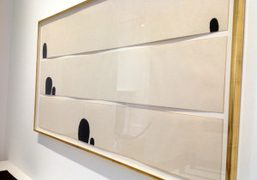 """James Lee Byars """"Early Works and the Angel"""" exhibition at Michael Werner..."""