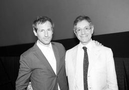 Spike Jonze and Jeffrey Deitch at their Q&A session after the screening…