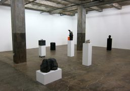 """HANNA LIDEN'S """"GHOST TOWN EXHIBITION"""" at the Maccarone Gallery, New York"""