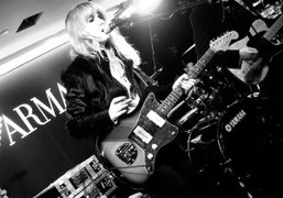 Ladyhawke performing at the Emporio Armani store, New York. Photo Sabine Heller