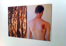 Gosha Rubchinskiy & Kira Bunse exhibition opening during FIAC 2012, Paris
