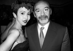 Michelle Harper and Christian Louboutinat Bergdorf Goodman for the 20th celebration of…