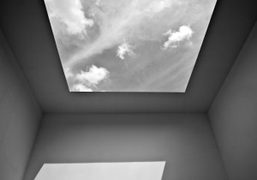 JAMES TURRELL'S SKYSPACE INSTALLATION at the moma ps1, new york
