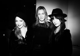 Zadig et Voltaire celebrate the Christopher Wool exhibition at the Guggenheim Museum,...