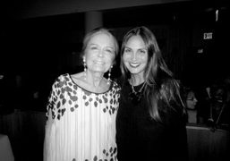 Gloria Steinem and Sabine Heller at the fourth annual DVF Awards, New…