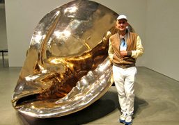 """Marc Quinn's """"All The Time In The World"""" show opening at the..."""