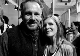 Jack Pierson and Vicky Bartlett at the VPL F/W 20102 show, New…