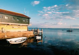 One last swim of the summer in Leigh-On-Sea