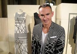 Neil Barrett at the presentation of his Spring/Summer 2012 collection, Paris. Photo…