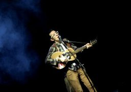 Micah P. Hinson performing for theFestivalStudio at the Triennale Design Museum, Milan….