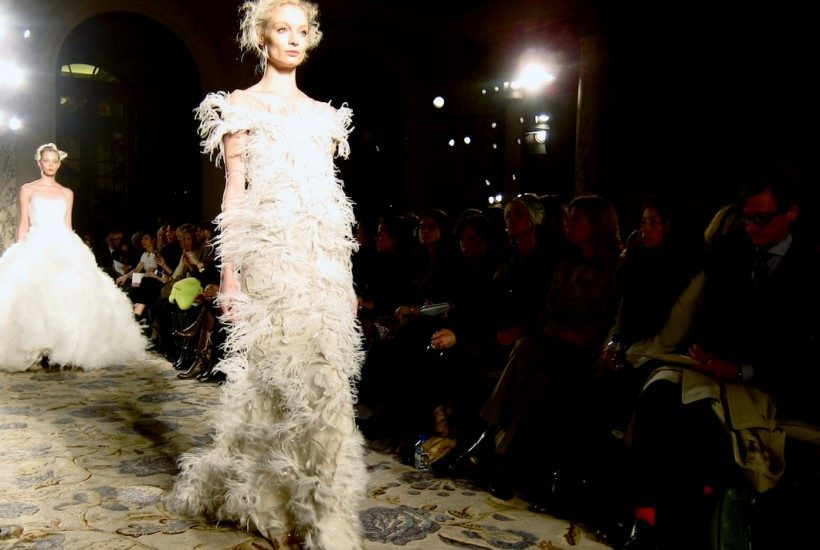 MARCHESA F/W 2012 SHOW, NEW YORK