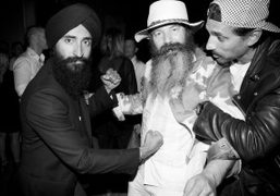 The Absolut Elyx party hosted by Johan Lindeberg to celebrate the single-estate handcrafted luxury vodka at…