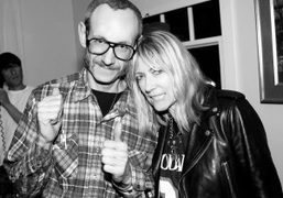 Terry Richardson and Kim Gordon at OHWOW's after party for the As…